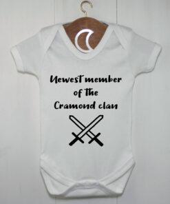 Clan Swords Baby Grow | Newest Member