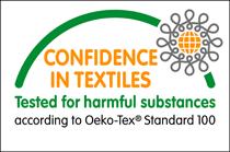 Confidence in Textiles - Oeko-Tex Standard 100 logo