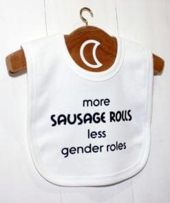 Sausage Rolls Baby Bib