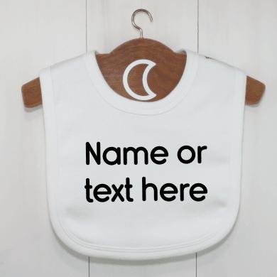 Custom Baby Bibs UK | Personalised Dribble Bibs
