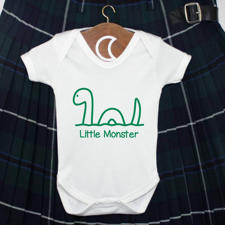 Little Monster Baby Grow