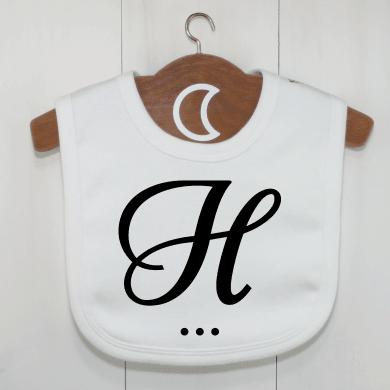 H Monogram Baby Bibs UK Dribble Bib Newborn +