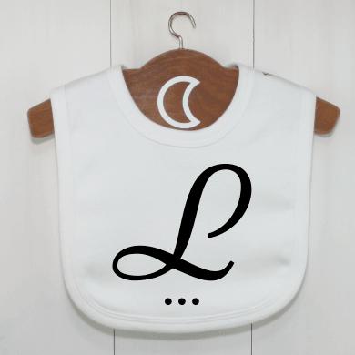 monogram-baby-bib-l