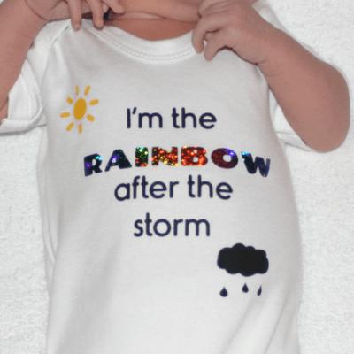Rainbow Baby Grow Unique Designs
