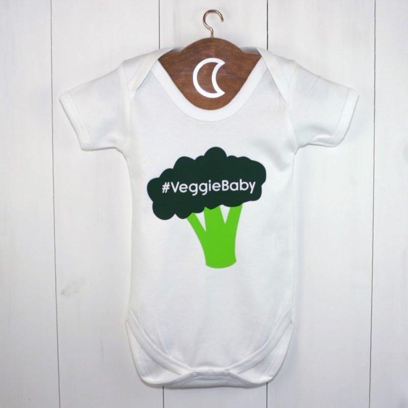 Broccoli Veggie Baby Grow | Veggie Baby Gift