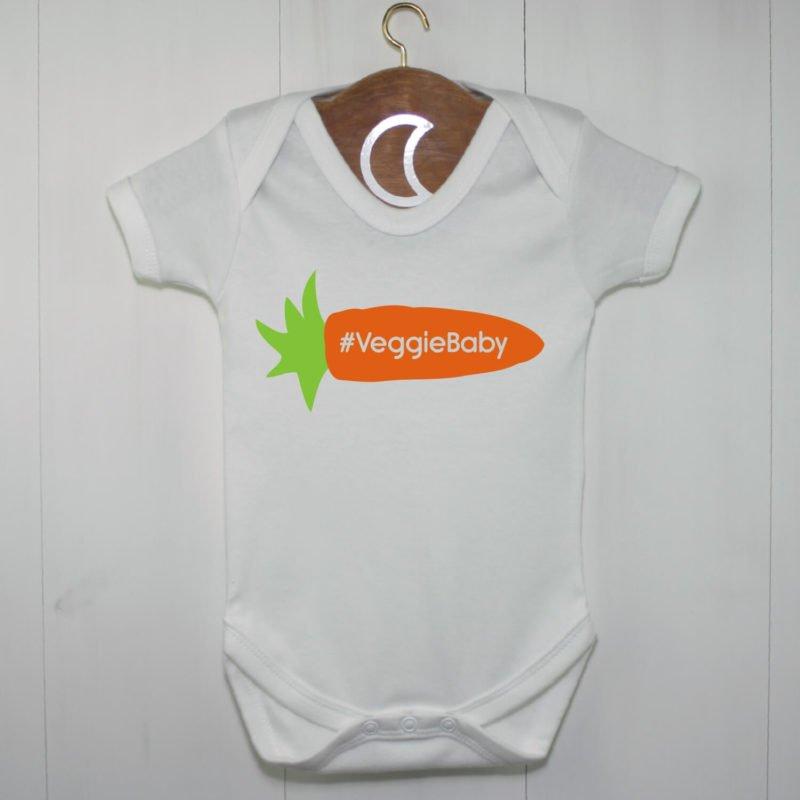 Carrot Veggie Baby Grow | Veggie Baby Design
