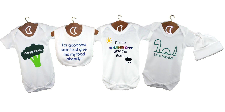 Personalised Baby Grows UK