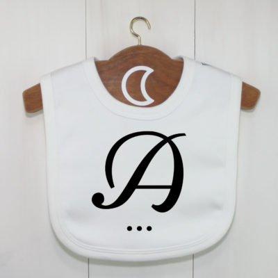 Monogram Baby Bib A