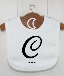 Monogram Baby Bib C
