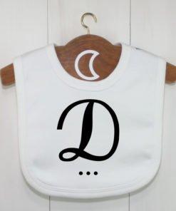Monogram Baby Bib D