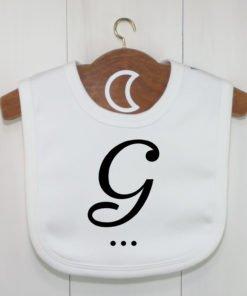 Monogram Baby Bib G