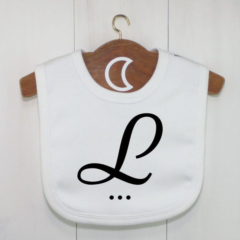Monogram Baby Bib L