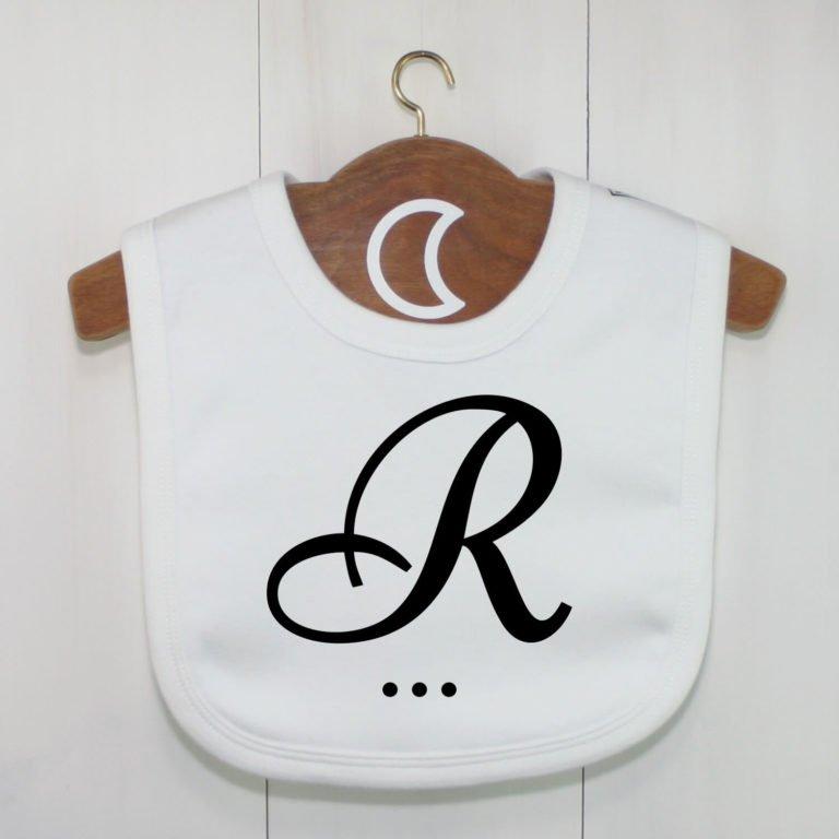 Monogram Baby Bib R