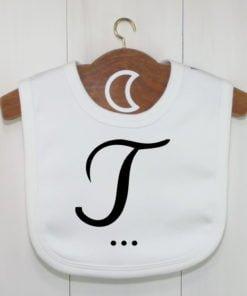 Monogram Baby Bib T