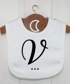 Monogram Baby Bib V