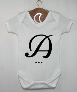 Monogram Baby Grow A