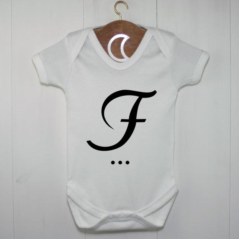Monogram Baby Grow F