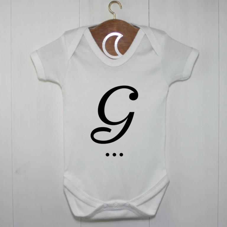 Monogram Baby Grow G