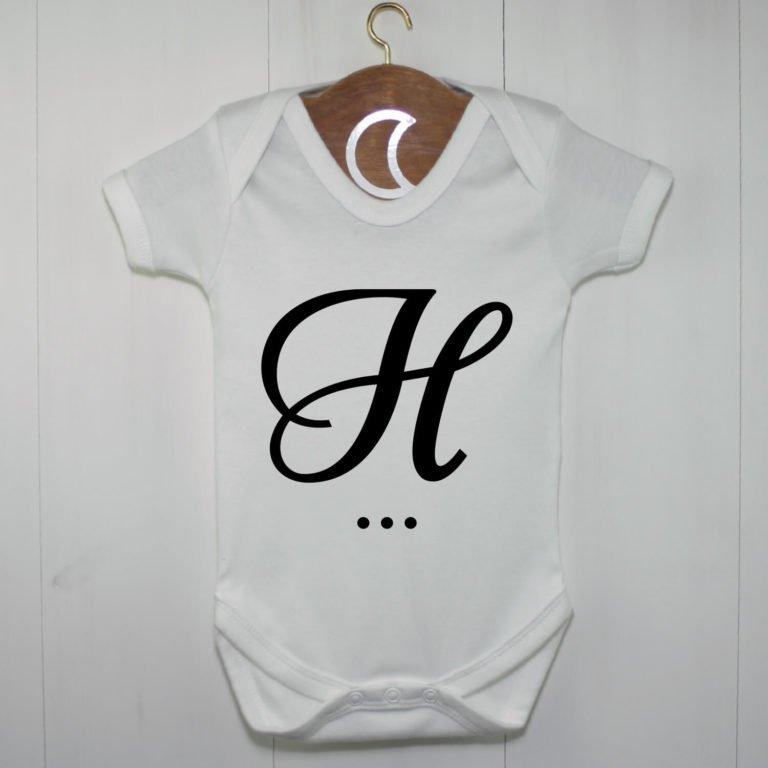 Monogram Baby Grow H