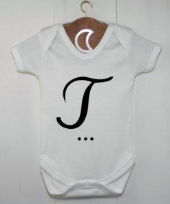 Monogram Baby Grow T