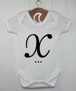 Monogram Baby Grow X