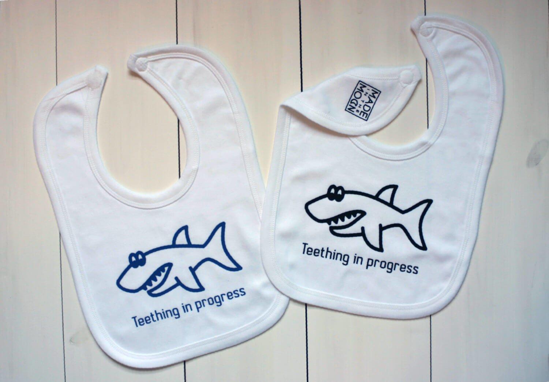 baby bibs sharks