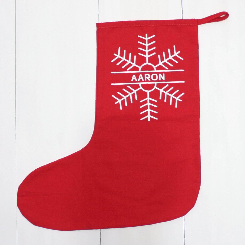 Baby Christmas StockingSnowflake