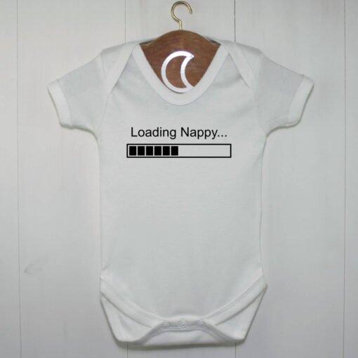 Loading Nappy Baby Grow